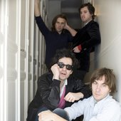 indie pop rock band Phoenix resisted their conservative neighborhood in Versailles, France.