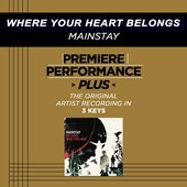 Where Your Heart Belongs (Performance Track In Key Of Db Without Background Vocals)