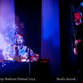 Alio Die and Vidna Obmana, Antwerp Ambient Festival 2014 (photo by Andre Seesink)