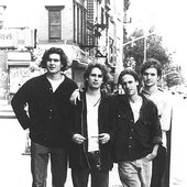 Jeff Buckley and his band