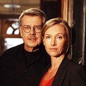 Mikael Wiehe och Ebba Forsberg