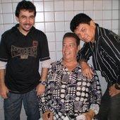 O Tecladista Cris Falcão, José Ribeiro e Paulo Márcio no CLUBE PORTUGUÊS em Recife