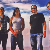 """photo from the booklet of \""""Ceremony to the Sunset\"""" album"""