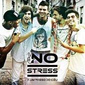 """No Stress, capa do primeiro single \""""A Um Passo do Céu\"""""""