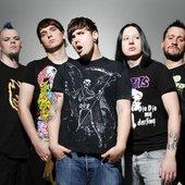 Bandfoto im Herbst 2008