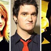 Hayley Williams, Jordan Pundik and Ethan Luck