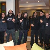 Oath to Vanquish (Lebanon) with Rotting Christ (Greece)