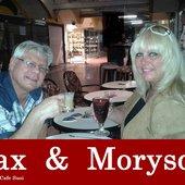 Sax & Moryson - Café Susi, Cita, Playa del Ingles, Spain 2015 (1)
