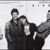 Australian Crawl - Sirocco Front Cover