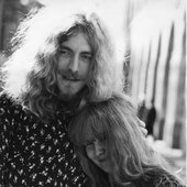Sandy & Robert Plant