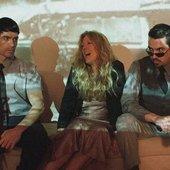Spythriller is: Justin Elswick, Caroline Lavelle, Israel Curtis.