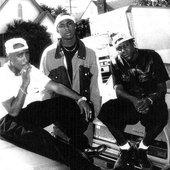 2Pac, Mac Mall & Ray Luv