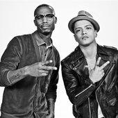 B.o.B and Bruno Mars