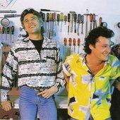 Golden Earring: photo shoot for a Dutch music magazine (1984)