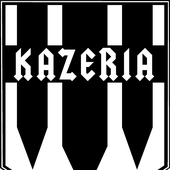 Shield logo.