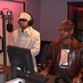 Shaggy & Rayvon in Studio