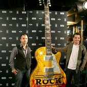 Benj and Marc at the Hard Rock