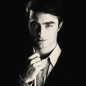 Daniel Radcliffe black&white