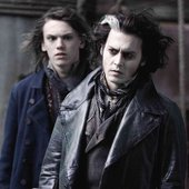 Jamie Campbell Bower & Johnny Depp