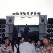 Furacão 2000 no Boêmios de Irajá - década de 90