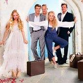 Colin Firth, Pierce Brosnan, Stellan Skarsgård, Amanda Seyfried and Meryl Streep