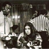 Joyce com Milton Nascimento, circa 1968