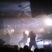 Meshuggah Live at the Garage in Glasgow. April 15 2012.