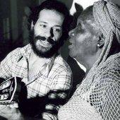 João Bosco com Clementina de Jesus