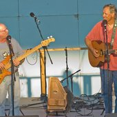 Tom Chapin & Mark May, Walnut Valley Festival 09 - Winfield, Kansas
