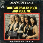 Pan's People: You Can Really Rock and Roll Me (Single Release, 1974)