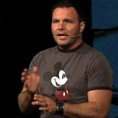 Mark Driscoll and Mickey Mouse