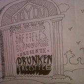 "Bretelles glamour \""Drunken freestyle\"" par Voyou"