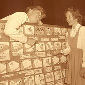 Jerry Colonna, Ed Wynn & Kathryn Beaumont