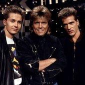 1987: Frank Otto, Dieter Bohlen, Achim Vogel