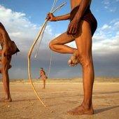 The San Bushmen Of The Kalahari