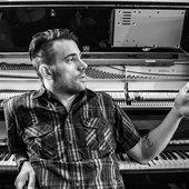 Benn Jordan, in his studio 2014
