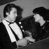Mireille et Alain Delon
