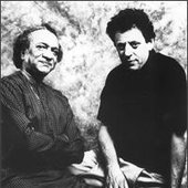 Ravi Shankar and Philip Glass