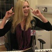 Sadie Fleming (taken at Choice Radio, Worcester - 5th December 12)