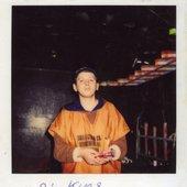 DJ Kuzya in Disco-2000 club, Kiev, 1996
