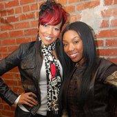 brandy & monica in ATL