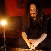 The Living Fields' guitarist, Jason Muxlow