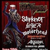 SANGRE@Rockstar Energy Drink Mayhem Festival at San Manuel Amphitheater Saturday June 30th