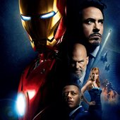 Robert Downey, Jr.; Terrence Howard; Jeff Bridges; Gwyneth Paltrow; Leslie Bibb