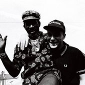 Lee 'Scratch' Perry and Adrian Sherwood