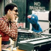 Stevie Wonder & Grover on Sesame Street-1973