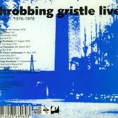 Throbbing Gristle Live - volume 1, 1976-1978 - cover back 3