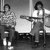 Noel Nicola y Santiago Feliú