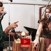 Mick Jagger and Joss Stone