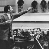 Herbert von Karajan conducting in 1941
